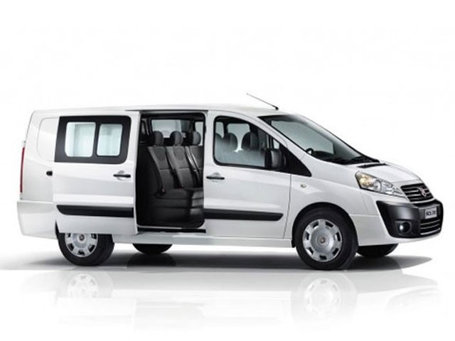 DIESEL FIAT Scudo Van 9 Seats or similar