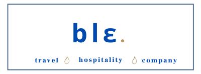 ble. Travel Hospitality Company
